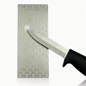 2pcs Küche Stein Schleifstein aus Diamant Messerschärfer Schleifstein Abziehstein Küche Zubehör