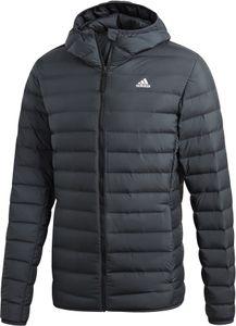 adidas TERREX Varilite Soft Kapuzen-Daunenjacke Herren carbon Größe M