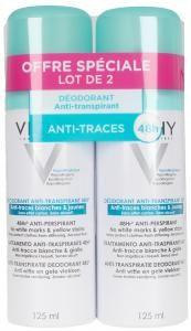 Vichy Deodorant Anti - Transpirant 48h Deo – Spray 2 x 125 ml