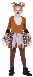 Kinder Kostüm Rehkitz Bambi, Größe:128