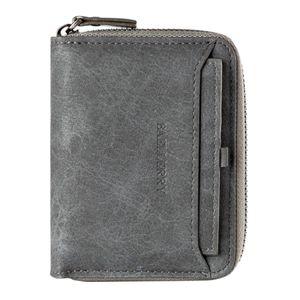 Herren Geldbörse Leder Reißverschluss Geldbeutel RFID-Schutz Herrengeldbörse Farbe Vertikale