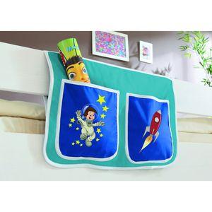 TiCAA Kinder Bett-Tasche für Hochbett und Etagenbett