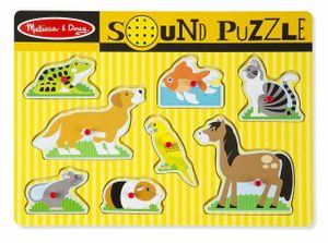 Melissa & Doug Formpuzzle mit gesunden Tieren 8 Stück