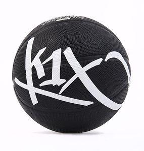 K1X Million Bucks - outdoor Basketball, Farbe:Schwarz, Ballgröße:7
