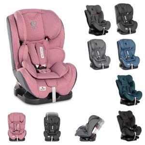 Lorelli Kindersitz Mercury Gruppe 0+/1/2/3 (0 - 36kg) verstellbar Kissen Reboard rosa
