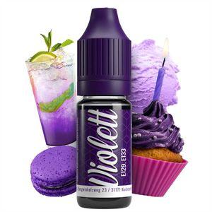 Lebensmittelfarbe Violett extrem hoch konzentriert, flüssig zum Färben von Getränken, Teig, Toppings und allen anderen Lebensmitteln