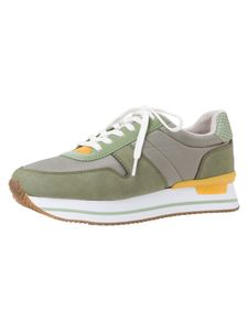 s.Oliver Damen Sneaker grün 5-5-23612-36 Größe: 40 EU