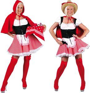 Rotkäppchen Karneval Fasching Kostüm 44-46
