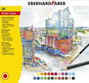 EBERHARD FABER Aquarellstift Artist Color 24er Metalletui