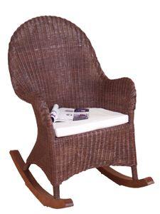 Schaukelstuhl inklusive Sitzkissen Swing