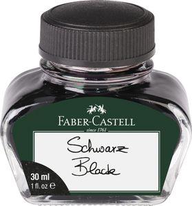 FABER-CASTELL Tinte im Glas schwarz Inhalt: 30 ml