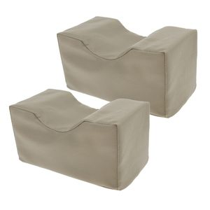 2 Stück Orthopädisches Kniekissen für Seitenschläfer Druckentlastung - Hüfte, Bein, Knie, Rücken und Schwangerschaft