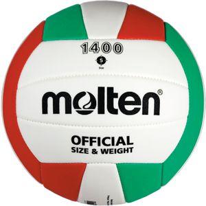 Molten Volleyball Trainingsball Weiß/Grün/Rot Gr. 5