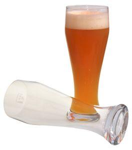 Wellco 4376016 Weizenbierglas 'Bayern' 500ml, klar (6 in Box)