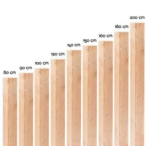Imprägnierte Holzpfosten in 18 Größen ( 9 x 9 x 180 cm ) aus Kiefer mit flachem Kopf · Braune Vierkant Zaunpfähle zur Befestigung von Zaun & Sichtschutz-Elementen