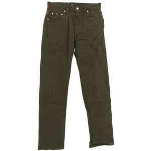 #5483 Hugo Boss, Montana,  Herren Jeans Hose, Denim mit Stretch, brown, W 32 L 34