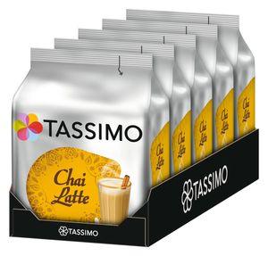 TASSIMO Chai Latte 5er Pack Teespezialität T Discs Tee Kapseln 5 x 8 Getränke