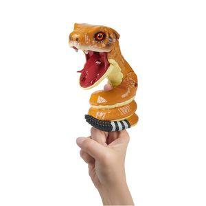 Fingerlings Ungezähmte interaktive Schlange Klapperschlange 3842 WowWee