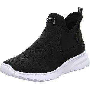Rieker Damen Sneaker X6063 Schwarz