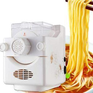 Elektrisch Nudelmaschine Nudel Vollautomat 160W Pastamaschine Nudelautomat Pastaautomat mit 9 Schimmel