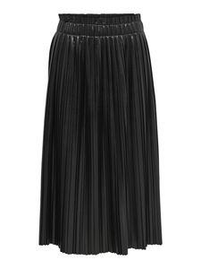 Onlmie Faux Leather Midi Pleat Skirt Otw