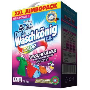 Der Waschkönig C.G. Color Waschmittel Pulver 100WL 7,5kg