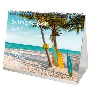 Surfzauber DIN A5 Tischkalender für 2021 Surfer und surfen - Seelenzauber