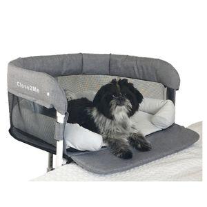 Close2Me Haustier-Beistellbett, montierbar an Möbeln mit hoher Matratze/Polsterung von 22-26 cm Höhe, inklusive Kuschelnest