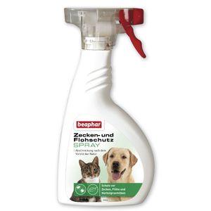 Beaphar - Zecken- und Flohschutz Spray - 400 ml
