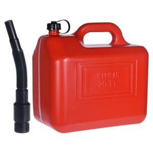 Kraftstoffkanister mit Trichter Self 20 L Rot