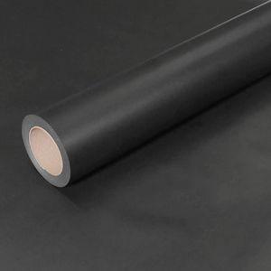 50m x 0,75m JUNOPAX Geschenkpapier schwarz
