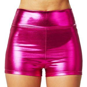 dressforfun Metallic-hotpants - pink, M