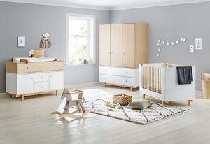 Kinderzimmer 'Boks' extrabreit groß mit 3 Türen