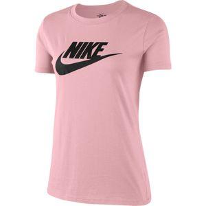 Nike W Nsw Tee Essntl Icon Futur Pink Glaze/Black M