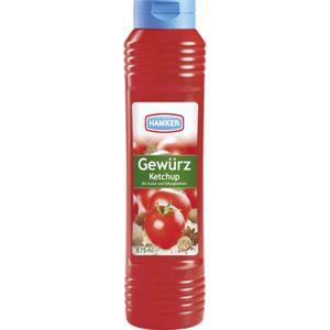 Hamker Pikanter Gewürz Ketchup Perfekt für Grillfleisch 875ml