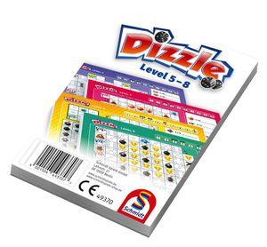 Schmidt Spiele - Dizzle Level 5-8, Block, 12 Stück