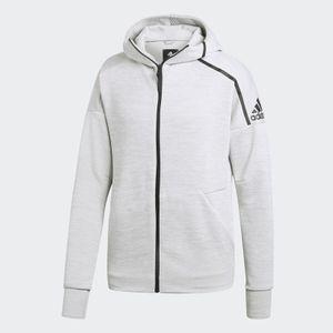 adidas Sweatjacke Z.N.E Hoodie Fast Release Gr.2XL hellgrau (CY9904)