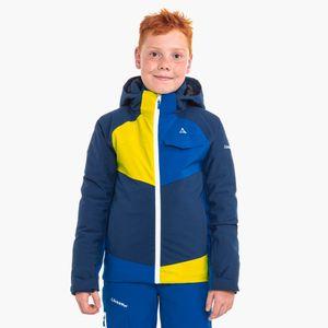 Schöffel Kinderskijacke Jacket Tours 3, Größe:164, Farbe:navy peony