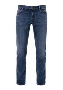 Alberto - Herren 5-Pocket Jeans Slim Fit (1572 4237), Größe:W34/L30, Farbe:Navy (898)