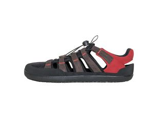 Barfußschuh FX Trainer Sandale brown/red, Größe:39, Farbe:Brown/Red