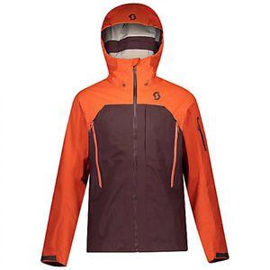 Scott Skijacke Herren Explorair 3L orange pumpkin/red fudge L