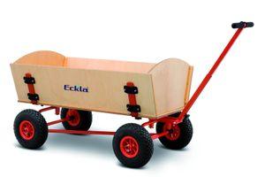 Eckla Bollerwagen - Eckla-Fun-Trailer-Long  M. Hinterachslenk. 100Cm, Pannensichere Bereifung 77906