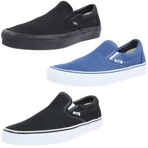 Vans Classic Slip On Sneaker Blau Schuhe, Größe:37