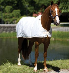 Horseware Rambo Waterproof Rug Liner (0g) - white, Größe:145