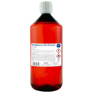 Waldbeeren Alkohol I Kamin-Ethanol I vollvergällt I 1000 ml I Bioethanol