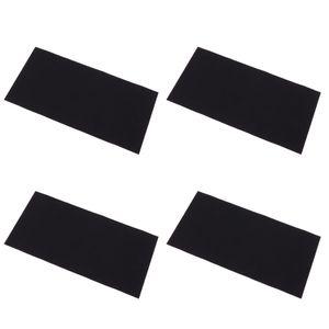 Loch in Daunenjacke Reparaturset (schwarze Farbe) inkl, 4x selbstklebende Flicken