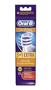 Braun Oral-B EB TriZone (3+1Stk) Ersatz-Zahnbürsten weiß