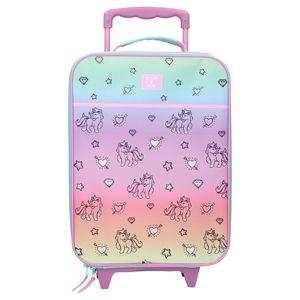 Einhorn Koffer Trolley Kinderkoffer Handgepäck Trolly Kindertrolley Mädchen