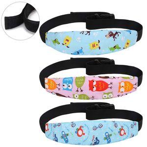 3 Stk einstellbare Kindersitz Befestigung Kopfband Autositz Schlafhaar Hilfe Kopfstütze Schlaf Kopfstützhalter Gürtel blau und rosa
