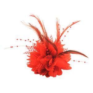 Charming Feder Haarspange Frauen Mädchen Haarnadel Cocktailparty Blume Haarspange Fascinator Hut Zubehör, Hochzeit Braut Headwear Dekoration